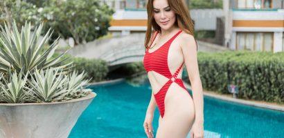 Hoa hậu Phương Lê khoe dáng nuột nà khi diện đồ tắm quyến rũ