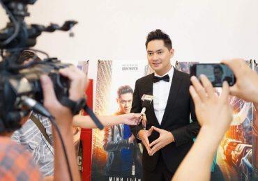 Sao Việt chúc mừng Minh Luân ra mắt phim điện ảnh mới