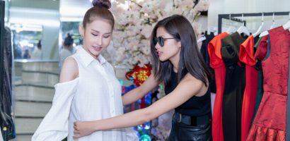 Nguyễn Thị Thành tư vấn cho Chi Nguyễn cách chọn trang phục chinh chiến quốc tế