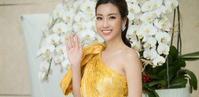Đỗ Mỹ Linh đẹp tỏa nắng trên ghế giám khảo Hoa hậu Việt Nam 2018