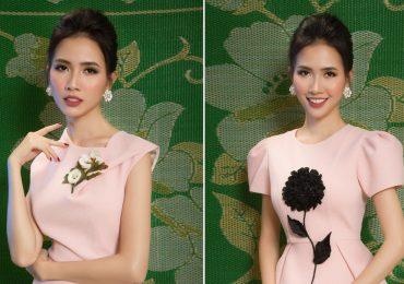 Phong cách thời trang thanh lịch, quý phải của người đẹp Phan Thị Mơ