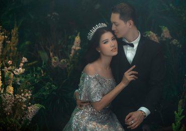 Ngắm trọn bộ ảnh cưới lãng mạn của người mẫu Trang Trần