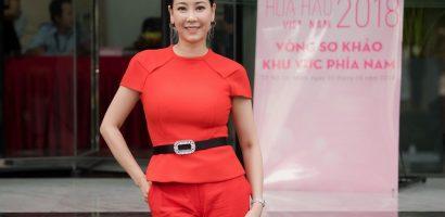 Hà Kiều Anh làm giám khảo Hoa hậu Việt Nam 2018