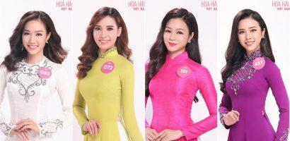 Cận cảnh vẻ duyên dáng của Top 30 thí sinh phía Nam của Hoa hậu Việt Nam 2018
