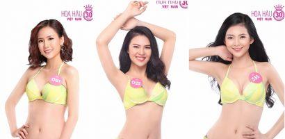 Thí sinh Hoa hậu Việt Nam 2018 diện bikini nóng bỏng trước thềm chung khảo