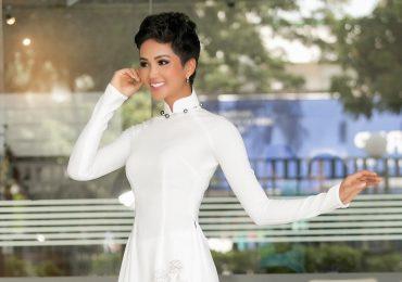 Hoa hậu H'hen Niê khoe kiểu tóc mới, bật mí đang tăng cân