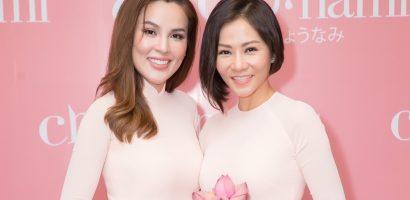 Thu Minh và Phương Lê diện áo dài đẹp, đọ sắc cùng dàn mỹ nhân Việt