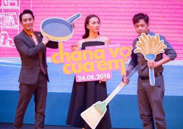 Thái Hòa phải khỏa thân hơn một ngày cho cảnh quay trong 'Chàng vợ của em'
