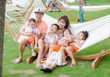 Vợ chồng Lý Hải tổ chức sinh nhật 2 tuổi cho con trai út ở bãi biển