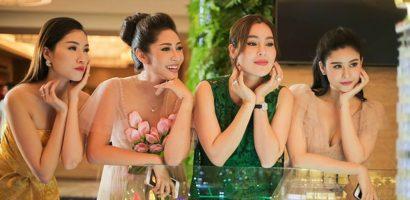 Đặng Thu Thảo khoe sắc bên Hoa hậu Phương Lê trước ngày lên xe hoa