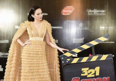 Hoa hậu Nguyễn Diệu Linh ấn tượng tại liên hoan phim
