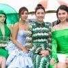 Á hậu Thùy Dung và Hoa hậu Jolie Nguyễn đọ vẻ sexy tại sự kiện