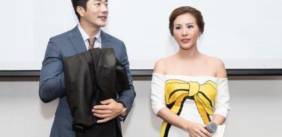 Kwon Sang Woo nhận món quà đặc biệt từ Hoa hậu Thu Hoài trước khi về nước