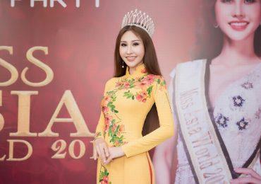 Hoa hậu Chi Nguyễn chia sẻ về sự cố trước khi giành ngôi vị Hoa hậu
