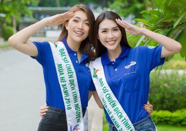 Lệ Hằng và Tường Linh trở thành đại sứ chiến dịch Mùa hè xanh
