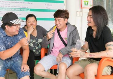Ngô Kiến Huy, BB Trần và Hải Triều 'cười thả ga' trong buổi tập dợt của minishow Gia Bảo