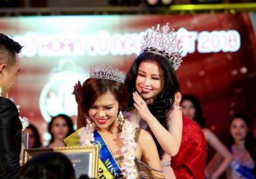 Janny Thủy Trần – người đưa cuộc thi 'Hoa hậu Đại sứ Hoàn vũ Người Việt 2018' đến thành công tốt đẹp