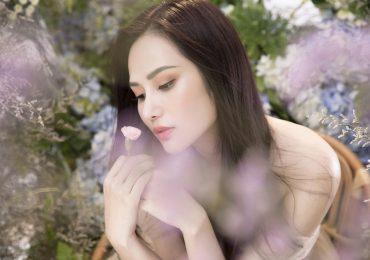 Hoa hậu Diệu Linh hóa nàng tiên hoa lộng lẫy