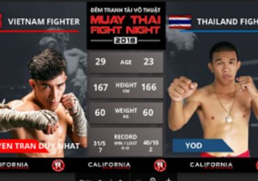 Cộng đồng Muay Hà Nội háo hức chờ đón đêm tranh tài võ thuật Muay Thai Fight Night