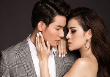 Hoa hậu Thư Dung gợi cảm, nóng bỏng cạnh 'nam thần' Sỹ Hưng