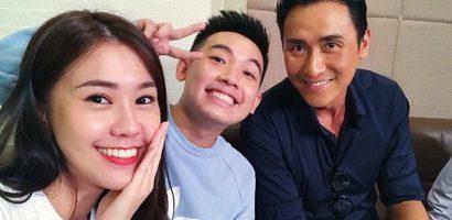 Phở Đặc Biệt, Ngọc Thảo thích thú khi gặp sao TVB Mã Đức Chung