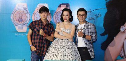 Angela Phương Trinh là đại diện thương hiệu đồng hồ dành cho giới trẻ