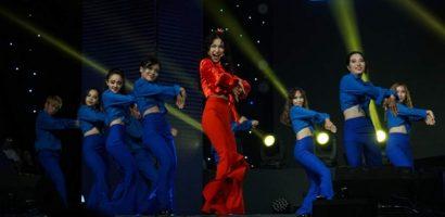 Hoà Minzy khoe vòng eo 55cm cùng vũ đạo 'Nàng tiên cá' gợi cảm