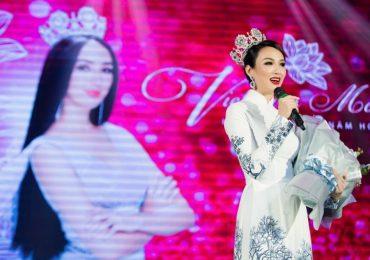 Ngọc Diễm khóc trong đêm kỷ niệm 10 năm đăng quang 'Hoa hậu Du lịch Việt Nam'