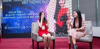 Đặng Kim Phượng: Nữ diễn giả Việt truyền cảm hứng cho nhà hoạt động xã hội người Mỹ