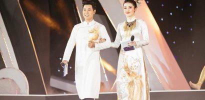 Nguyên Khang hướng dẫn Huyền My làm MC Hoa hậu Việt Nam 2018