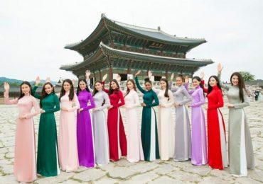 Top 15 Miss Supranational Vietnam diện áo dài gây sốt ở Hàn Quốc