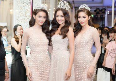 Top 3 Miss Supranational Vietnam 2018 lần đầu xuất hiện sau đăng quang