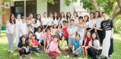 Các người đẹp của Miss Supranational Vietnam 2018 đến thăm làng trẻ em SOS