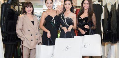 NTK Hằng Nguyễn tặng đầm cho Phan Thị Mơ và các Hoa hậu quốc tế