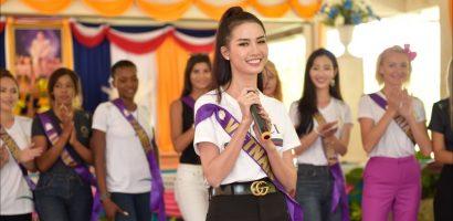 Phan Thị Mơ sút 3kg sau tuần đầu tham gia chung kết 'Hoa hậu Đại sứ Du lịch Thế giới 2018'
