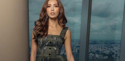 Siêu mẫu Minh Tú cuốn hút trong bộ ảnh mới