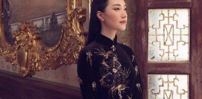 'Nàng thơ xứ Huế' Ngọc Trân quyền lực với áo dài cung đình