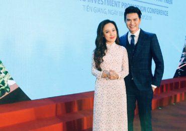 Vũ Mạnh Cường cùng BTV Hoài Anh về Tiền Giang dẫn dắt chương trình