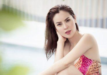 Hoa hậu Phương Lê diện bikini nóng bỏng, khoe nhan sắc đẹp không tì vết