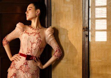Khánh Linh 'The Face' khoe eo thon 'con kiến' trong bộ ảnh mới