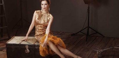 MC Thanh Mai mặc dạ hội khoe vóc dáng gợi cảm