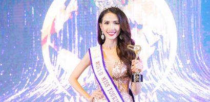 Phan Thị Mơ đăng quang 'Hoa hậu Đại sứ Du lịch Thế giới 2018'
