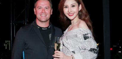 Hoa hậu Chi Nguyễn hào hứng chào đón cựu danh thủ Michael Owen