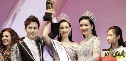 Cựu người mẫu Paris Vũ đăng quang Hoa hậu sau 20 năm rời showbiz