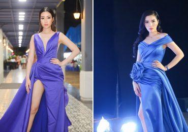 Hoa hậu Việt Nam 2018: Kỳ Duyên và Đỗ Mỹ Linh diện váy xẻ cao, khoe chân dài miên man