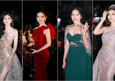 Đỗ Mỹ Linh, Kỳ Duyên cùng dàn mỹ nhân trên thảm đỏ 'Hoa hậu Việt Nam 2018'