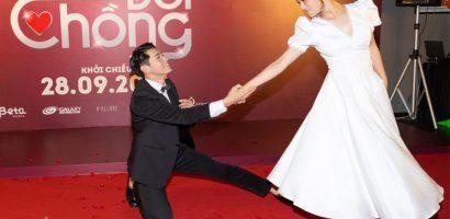 Hoàng Yến Chibi và Quang Đăng tình tứ nhảy Tango tại sự kiện