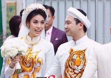 Lan Khuê bí mật làm lễ đính hôn cùng bạn trai Tuấn John sáng nay