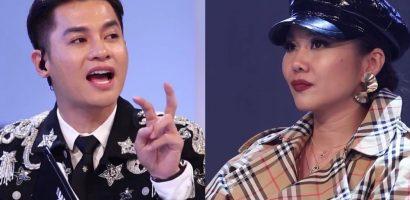 Cuộc 'chạm trán' đầu tiên của Thanh Hằng và Nam Trung tại The Face 2018