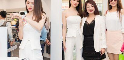 Hoa hậu Hương Giang xuất hiện thanh lịch tại sự kiện